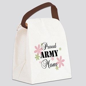 Army Mom [fl] Canvas Lunch Bag
